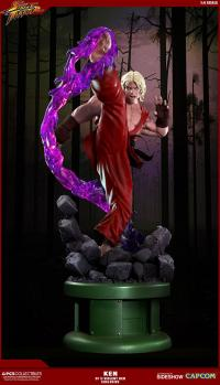 Gallery Image of Ken Masters Violent Ken with Dragon Flame Statue