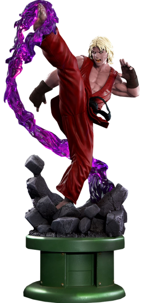 Street Fighter Ken Masters Violent Ken With Dragon Flame Sta