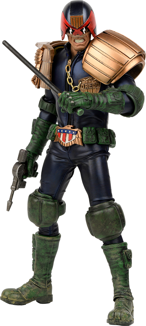 ThreeA Toys Apocalypse War Judge Dredd Sixth Scale Figure