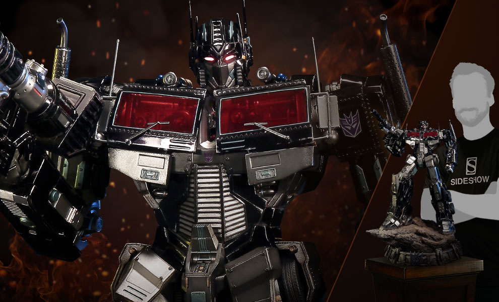 Gallery Feature Image of Nemesis Prime Transformers Generation 1 Statue - Click to open image gallery