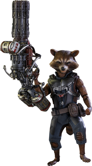 Rocket Deluxe Version Sixth Scale Figure