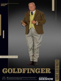 Gallery Image of Auric Goldfinger Sixth Scale Figure