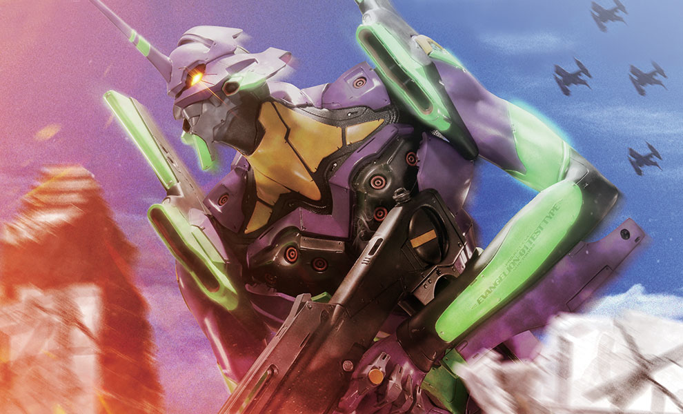 Gallery Feature Image of EVA Test Type-01 Statue - Click to open image gallery