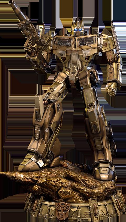 Prime 1 Studio Optimus Prime Gold Version - Transformers Generation 1 Statue
