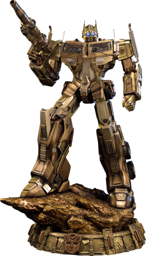Optimus Prime Gold Version - Transformers Generation 1 Statue