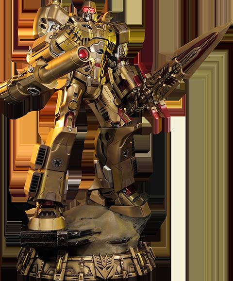 Prime 1 Studio Megatron Gold Edition - Transformers Generation 1 Statue