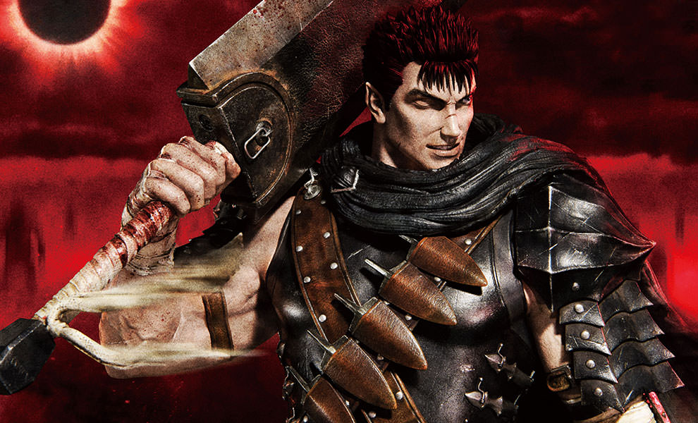 Gallery Feature Image of Guts The Black Swordsman Statue - Click to open image gallery