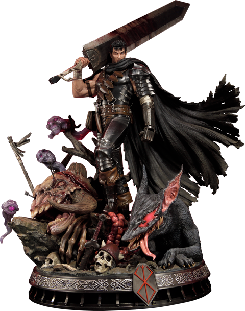 Prime 1 Studio Guts The Black Swordsman Statue