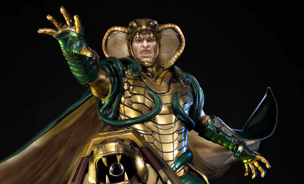 Gallery Feature Image of Serpentor Statue - Click to open image gallery