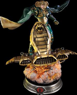 Serpentor Statue
