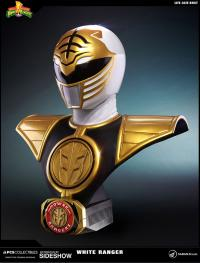 Gallery Image of White Ranger Life-Size Bust