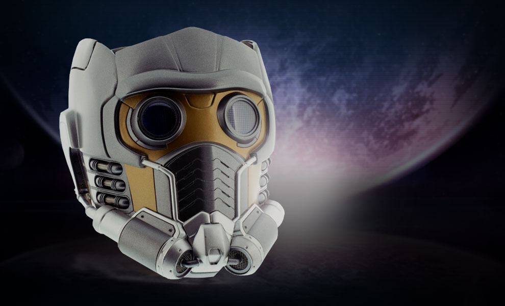 Gallery Feature Image of Star-Lord Helmet Prop Replica - Click to open image gallery
