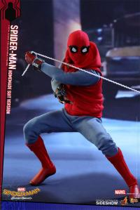 Gallery Image of Spider-Man Homemade Suit Version Sixth Scale Figure