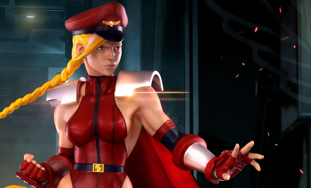 Gallery Feature Image of Shadaloo Cammy Statue - Click to open image gallery