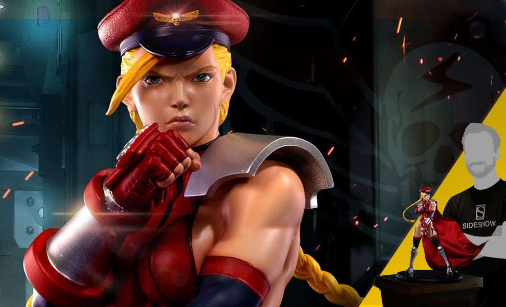 Gallery Feature Image of Shadaloo Cammy Dictator Statue - Click to open image gallery