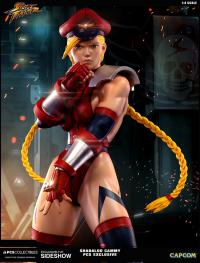 Gallery Image of Shadaloo Cammy Dictator Statue