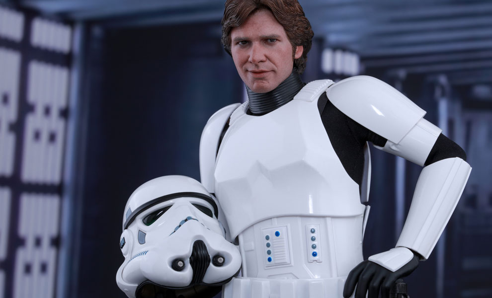Gallery Feature Image of Han Solo Stormtrooper Disguise Version Sixth Scale Figure - Click to open image gallery