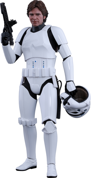 Han Solo Stormtrooper Disguise Version Sixth Scale Figure