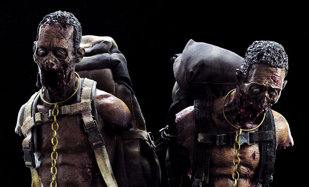 Gallery Feature Image of Michonnes Pet Walker Twin Pack Sixth Scale Figure - Click to open image gallery