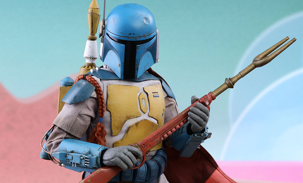 Gallery Feature Image of Boba Fett Animation Version Sixth Scale Figure - Click to open image gallery