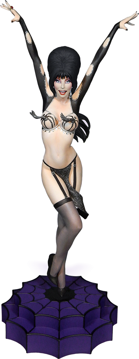 Tweeterhead Elvira Vegas or Bust Maquette