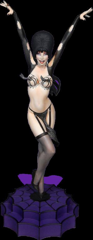 Elvira Vegas or Bust Maquette