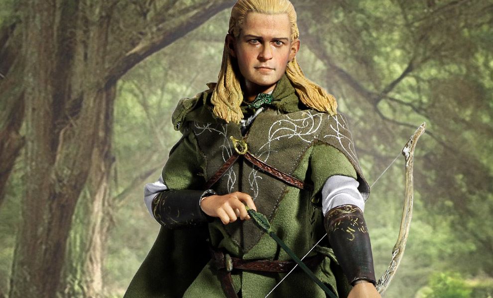 Gallery Feature Image of Legolas Luxury Edition Sixth Scale Figure - Click to open image gallery