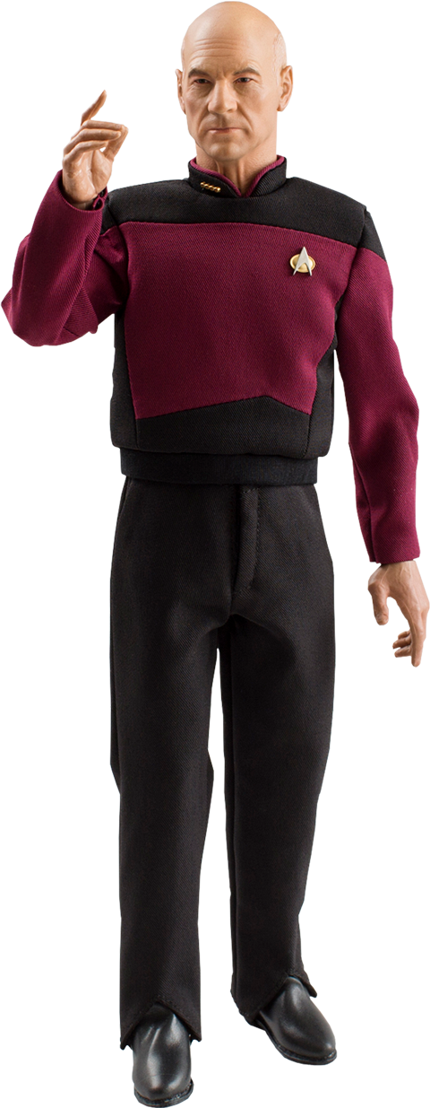 Quantum Mechanix Captain Jean-Luc Picard Sixth Scale Figure