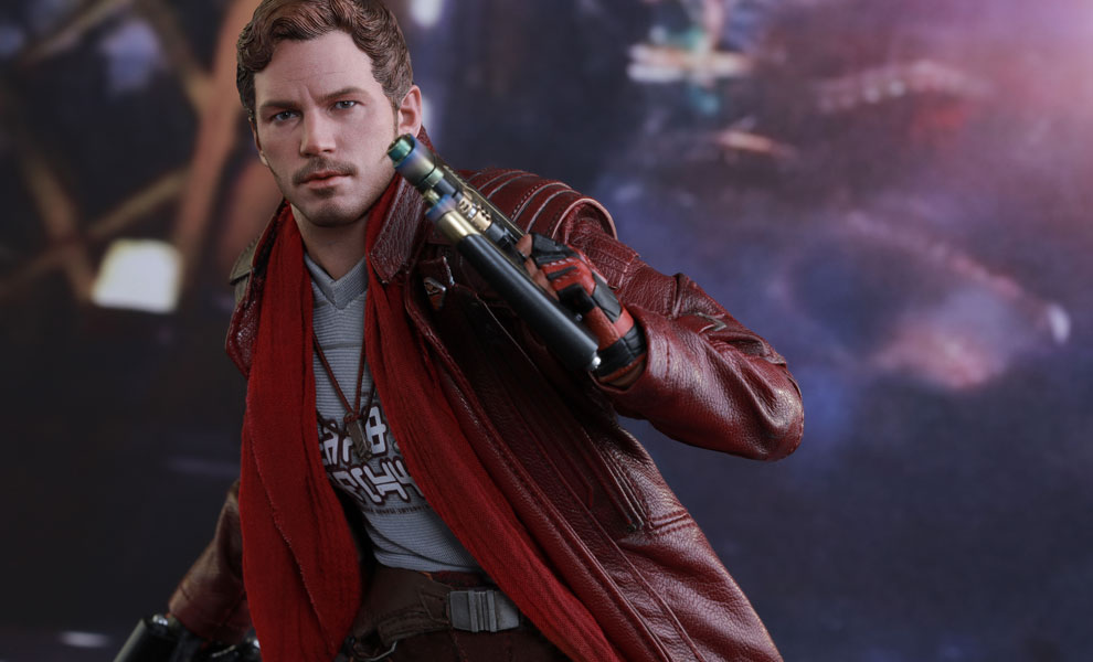 Gallery Feature Image of Star-Lord Deluxe Version Sixth Scale Figure - Click to open image gallery