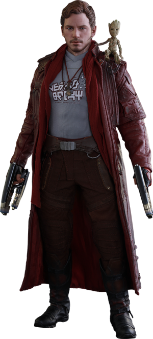 Star-Lord Deluxe Version Sixth Scale Figure
