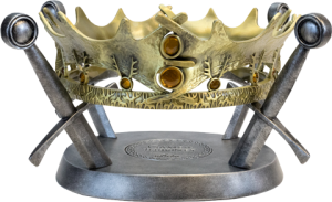 The Royal Crown of King Robert Baratheon Prop Replica