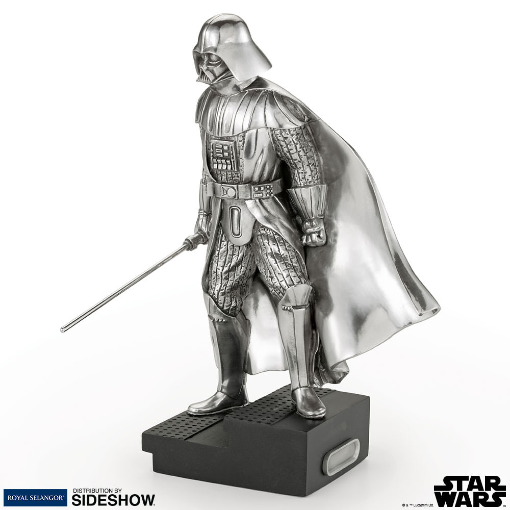 Star Wars Darth Vader Figurine Pewter Collectible by Royal S