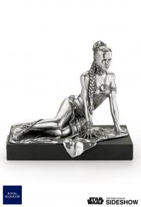 Gallery Image of Princess Leia Figurine Pewter Collectible
