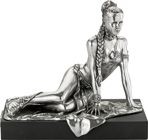 Royal Selangor Princess Leia Figurine Pewter Collectible
