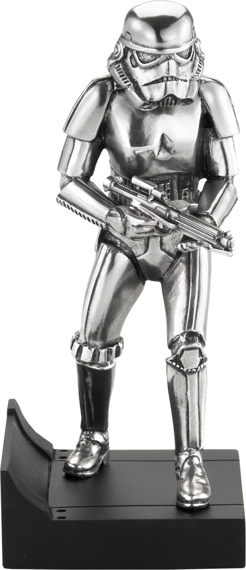 Star Wars Stormtrooper Figurine Pewter Collectible By Royal Sideshow Collectibles