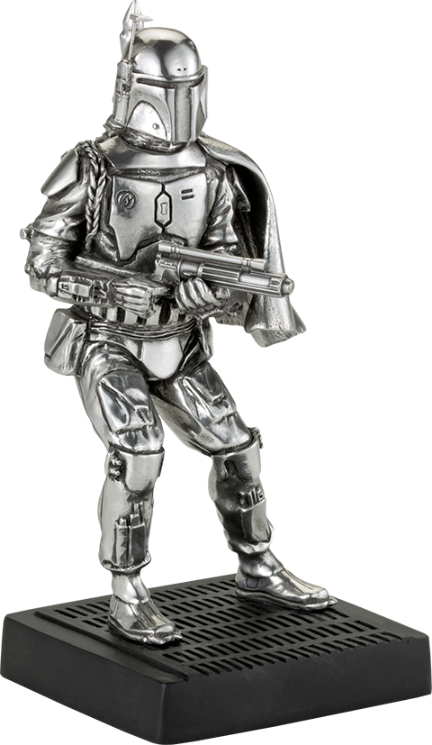 Royal Selangor Boba Fett Figurine Pewter Collectible