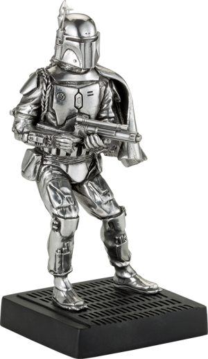 Boba Fett Figurine Pewter Collectible