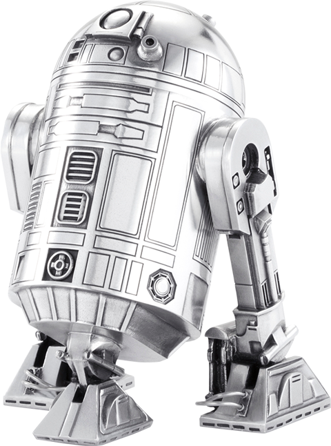 Royal Selangor R2-D2 Canister Pewter Collectible