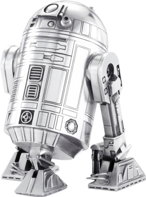 R2-D2 Canister Pewter Collectible