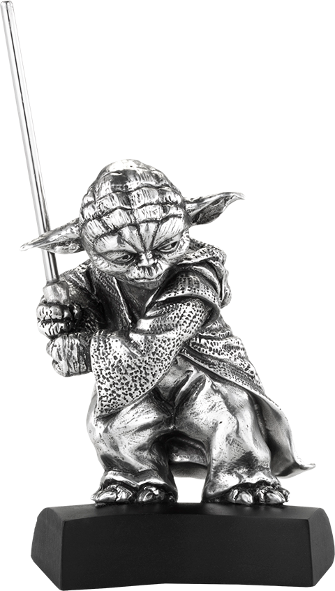 Royal Selangor Yoda Figurine Pewter Collectible