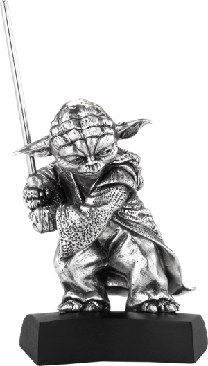 Yoda Figurine Pewter Collectible