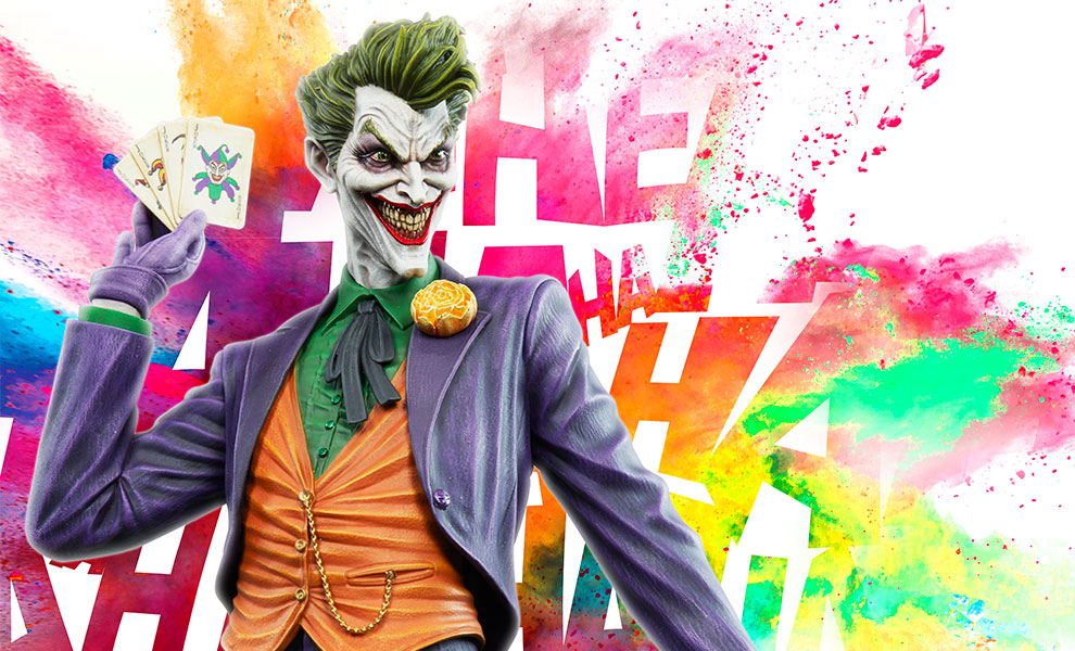 Gallery Feature Image of The Joker Maquette - Click to open image gallery