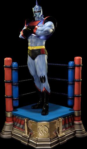 Robin Mask Statue