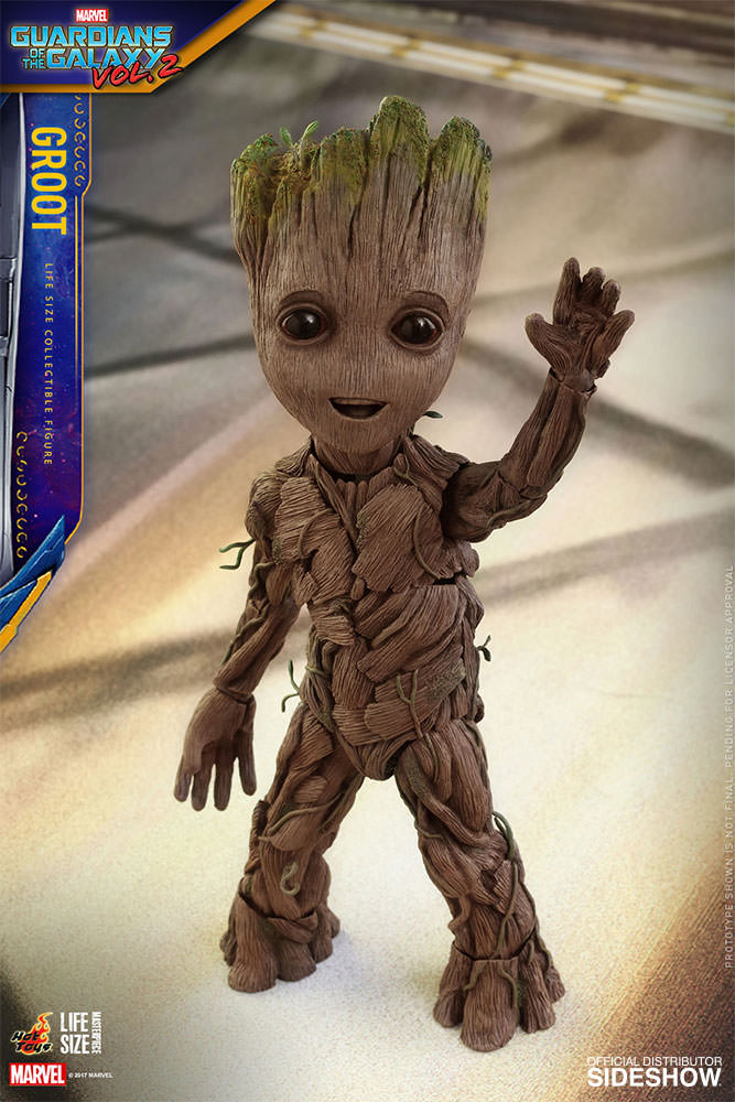 Marvel Groot Sixth Scale Figure By Hot Toys Sideshow Collectibles