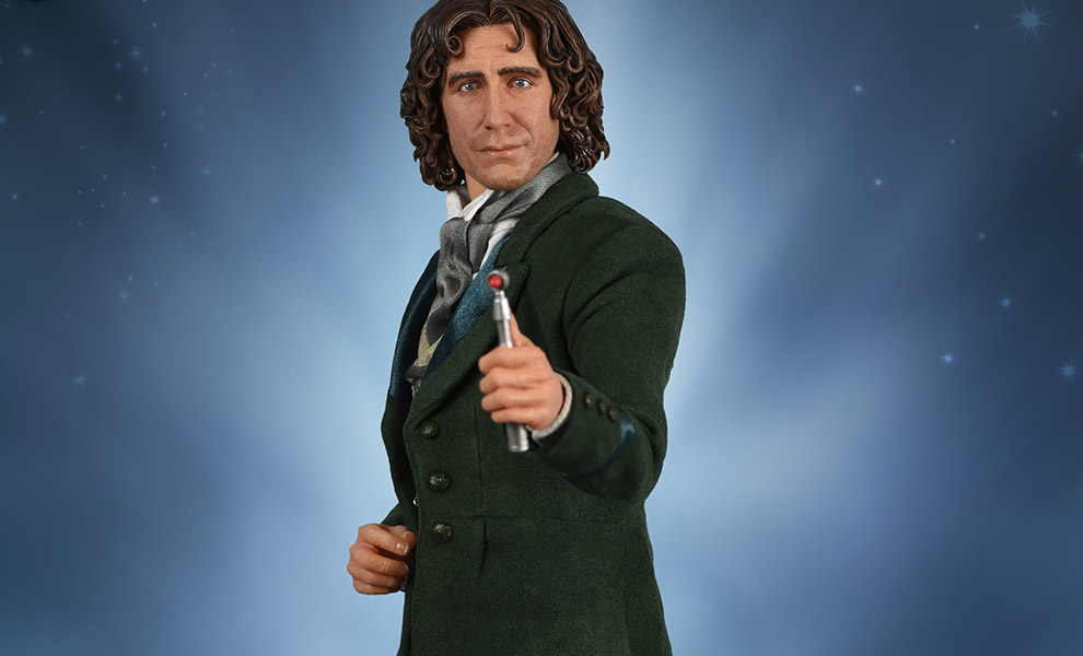 Gallery Feature Image of 8th Doctor Sixth Scale Figure - Click to open image gallery