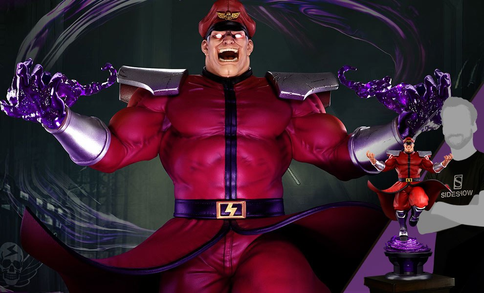 Gallery Feature Image of M Bison Psycho Drive Statue - Click to open image gallery