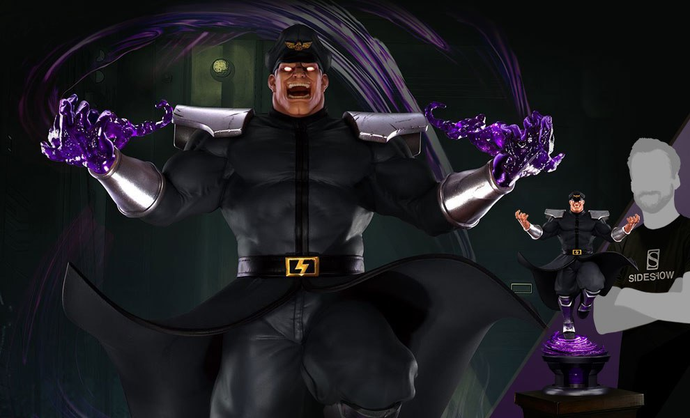Gallery Feature Image of M Bison Player 2 Statue - Click to open image gallery