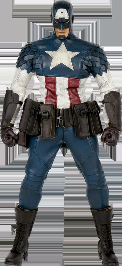 ThreeA Toys Captain America Sixth Scale Figure