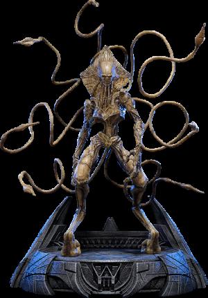Alien Colonist Statue