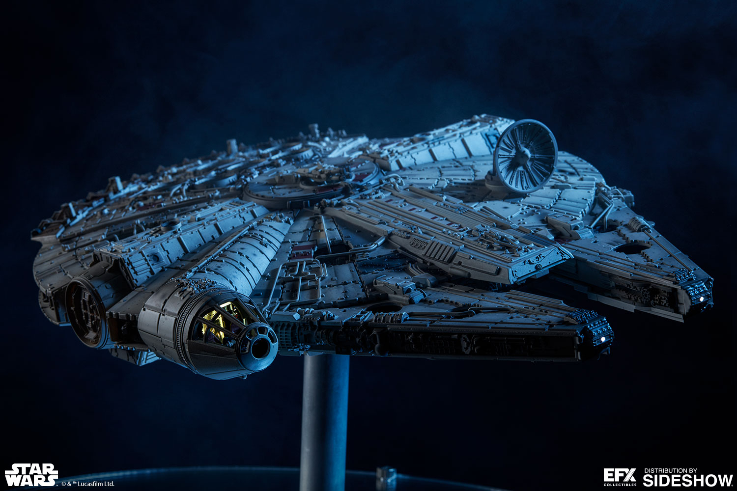 Star Wars Millennium Falcon Scaled Replica Efx Collectibl Sideshow Collectibles